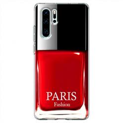 Etui na telefon Huawei P30 Pro - Czerwony lakier do paznokci