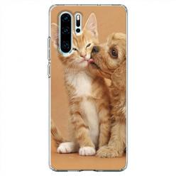 Etui na telefon Huawei P30 Pro - Jak pies z kotem