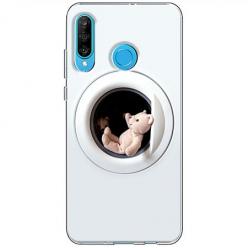 Etui na telefon Huawei P30 Lite - Misio w pralce