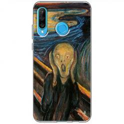 Etui na telefon Huawei P30 Lite - Krzyk Munka