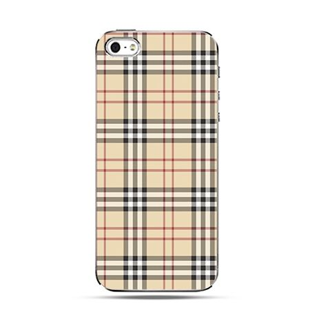 Kratka burberry - Twarde Etui z nadrukiem iPhone 6 plus