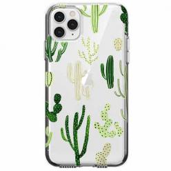 Etui na telefon Apple iPhone 11 Pro Max - Kaktusowy ogród.