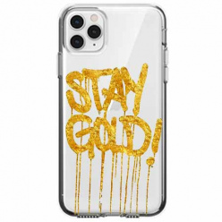 Etui na telefon Apple iPhone 11 Pro Max - Stay Gold.