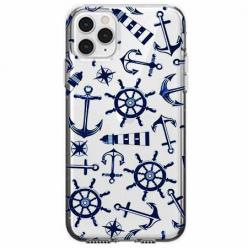 Etui na telefon Apple iPhone 11 Pro Max - Ahoj wilki morskie.
