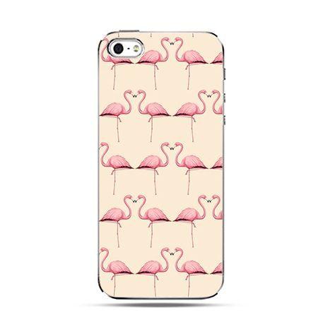 Etui na Apple iPhone 6 plus - Różowe flamingi