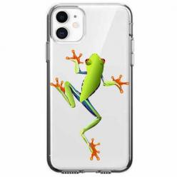 Etui na telefon Apple iPhone 11 - Zielona żabka.