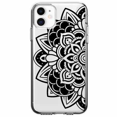 Etui na telefon Apple iPhone 11 - Kwiatowa mandala.