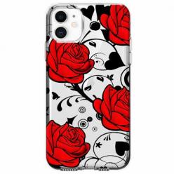 Etui na telefon Apple iPhone 11 - Czerwone róże.