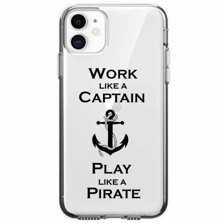 Etui na telefon Apple iPhone 11 - Work like a Captain…