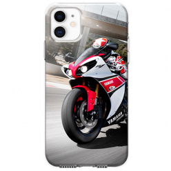 Etui na telefon Apple iPhone 11 - Motocykl ścigacz