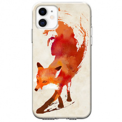 Etui na telefon Apple iPhone 11 - Lis watercolor