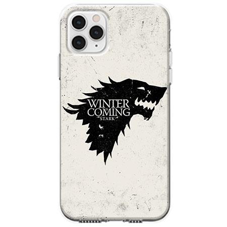 Etui na telefon Apple iPhone 11 Pro - Winter is coming Black