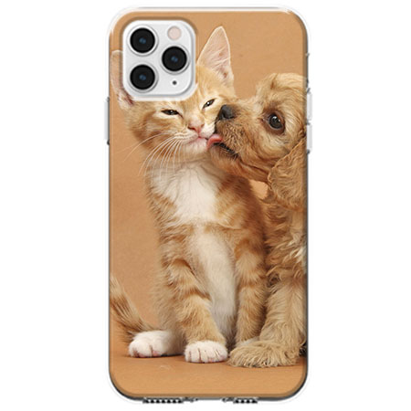 Etui na telefon Apple iPhone 11 Pro - Jak pies z kotem