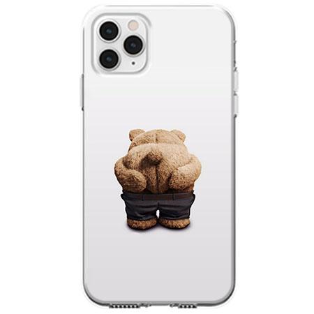 Etui na telefon Apple iPhone 11 Pro - Miś z wypiętą pupą