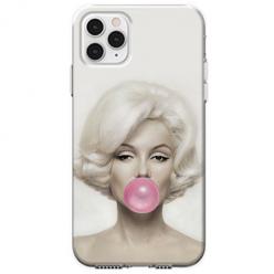 Etui na telefon Apple iPhone 11 Pro - Monroe z gumą balonową