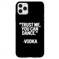 Etui na telefon Apple iPhone 11 Pro - Trust me You can Dance