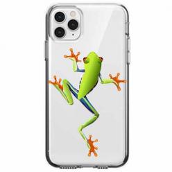Etui na telefon Apple iPhone 11 Pro - Zielona żabka.