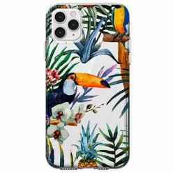 Etui na telefon Apple iPhone 11 Pro - Egzotyczne tukany.