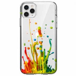 Etui na telefon Apple iPhone 11 Pro - Kolorowy splash.
