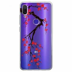 Etui na Xiaomi Redmi Note 7 Pro - Krzew kwitnącej wiśni.