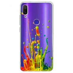 Etui na Xiaomi Redmi Note 7 Pro - Kolorowy splash.