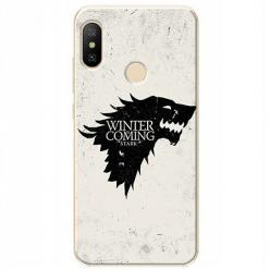 Etui na Xiaomi Mi A2 Lite - Winter is coming Black