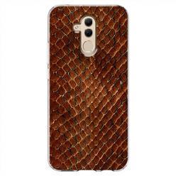 Etui na Huawei Mate 20 Lite - Skóra węża