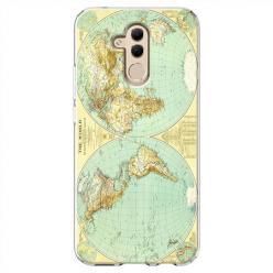 Etui na Huawei Mate 20 Lite - Mapa świata