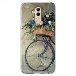 Etui na Huawei Mate 20 Lite - Rower z kwiatami