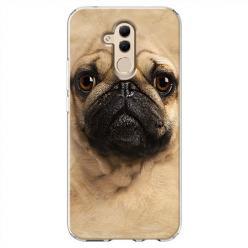 Etui na Huawei Mate 20 Lite - Pies Szczeniak face 3d
