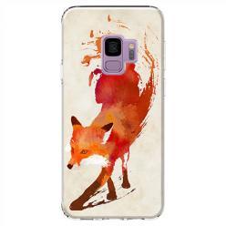 Etui na Samsung Galaxy S9 - Lis watercolor