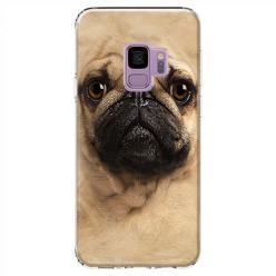 Etui na Samsung Galaxy S9 - Pies Szczeniak face 3d