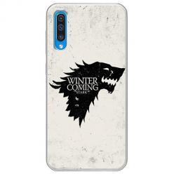 Etui na Samsung Galaxy A50 - Winter is coming Black