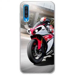 Etui na Samsung Galaxy A50 - Motocykl ścigacz