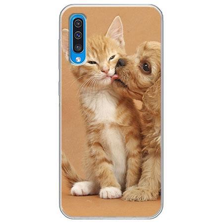 Etui na Samsung Galaxy A50 - Jak pies z kotem