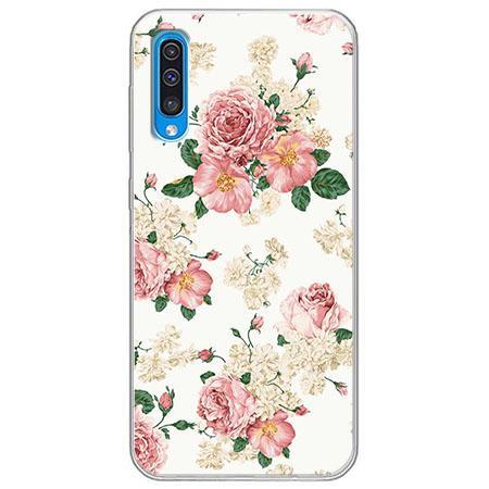 Etui na Samsung Galaxy A50 - Polne kwiaty