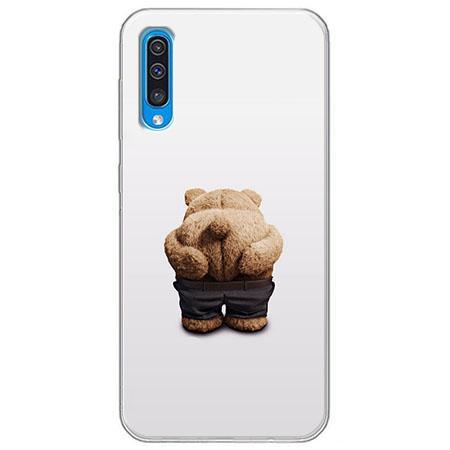 Etui na Samsung Galaxy A50 - Miś z wypiętą pupą