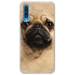 Etui na Samsung Galaxy A50 - Pies Szczeniak face 3d