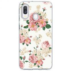 Etui na Samsung Galaxy A40 - Polne kwiaty