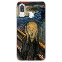 Etui na Samsung Galaxy A40 - Krzyk Munka