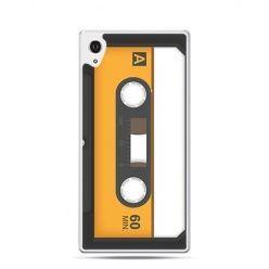 Kaseta magnetofonowa etui z nadrukiem dla  Xperia Z2