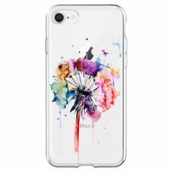 Etui na iPhone 7 -  Watercolor dmuchawiec.