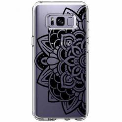 Etui na Samsung Galaxy S8 - Kwiatowa mandala.