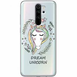 Etui na Xiaomi Redmi Note 8 Pro - Dream unicorn - Jednorożec.