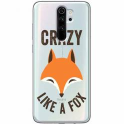 Etui na Xiaomi Redmi Note 8 Pro - Crazy like a fox.