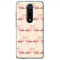 Etui na Xiaomi Mi 9T - Flamingi