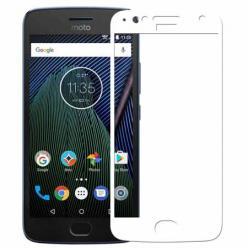 Motorola Moto G5s hartowane szkło na cały ekran 3D - Biały.