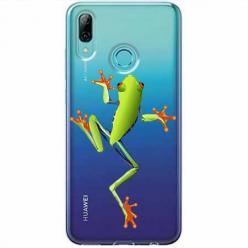 Etui na Huawei P Smart Z - Zielona żabka.