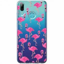 Etui na Huawei P Smart Z - Różowe flamingi.