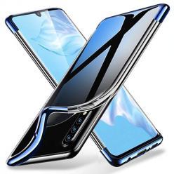 Etui na Xiaomi Mi A3 - platynowane SLIM - Niebieski